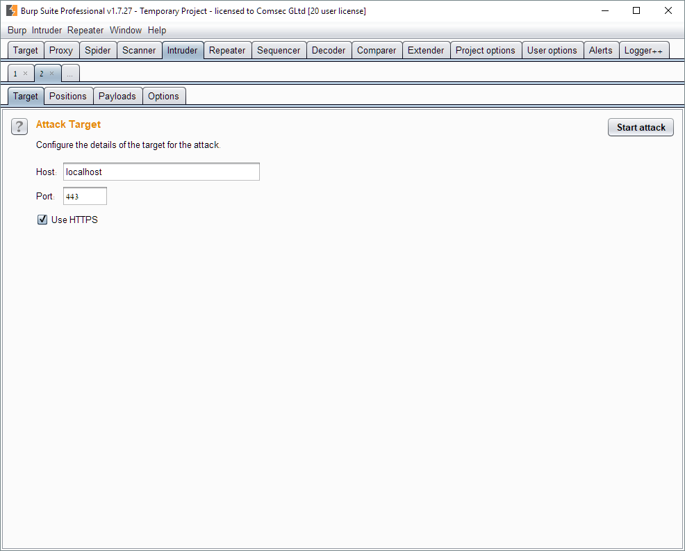 ComTech: Using Burp Suite to Discover Domains - Comsec Global